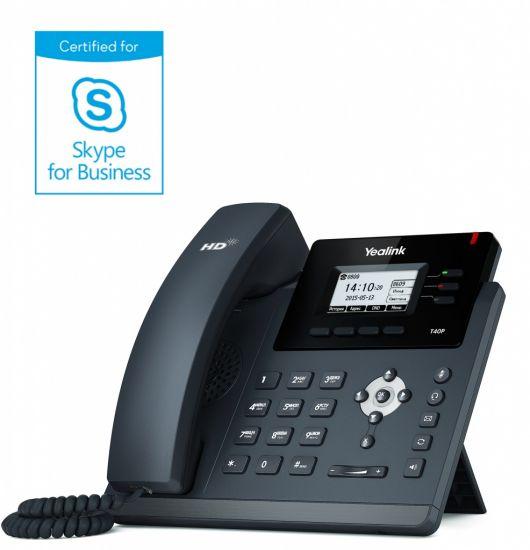 Yealink SIP-T40P для Skype for Business