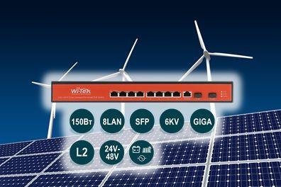 Wi-Tek WI-PMS310GF-UPS